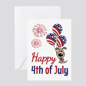 Happy Fourth July Infant Accessories Greeting Cards Cafepress