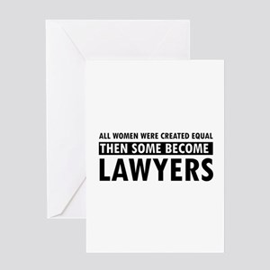 Lawyer Greeting Cards Cafepress