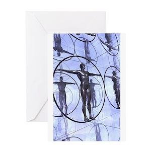 mirrorman Greeting Card