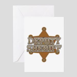 Deputy Sheriff Greeting Cards - CafePress