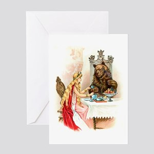 Fairy Tale Collection: Beauty the Beast Greeting C