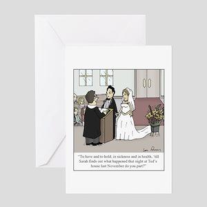 Cheating Husband Greeting Cards - CafePress