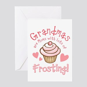 Grandmas Frosting Greeting Cards
