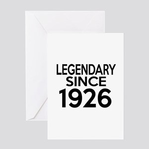 Legendary Since 1926 Greeting Card