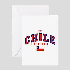 Red Futbol Greeting Cards Cafepress