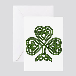 Celtic Shamrock - St Patricks Day Greeting Cards