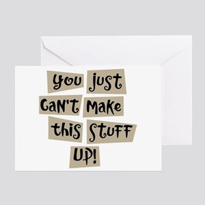Stuff Up! - Greeting Card