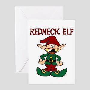 Redneck Christmas.Redneck Christmas Greeting Cards Cafepress