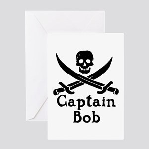Captain Bob Greeting Card
