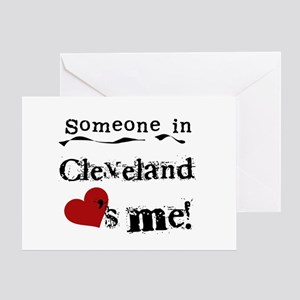 Cleveland Loves Me Greeting Card