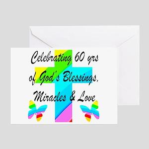 60 YR OLD PRAYER Greeting Card