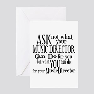 Musical Theatre Quotes Greeting Cards - CafePress