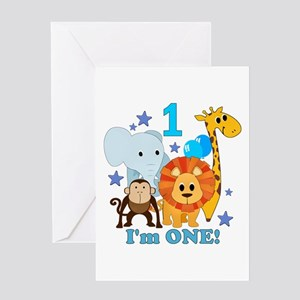 One Year Old Greeting Cards