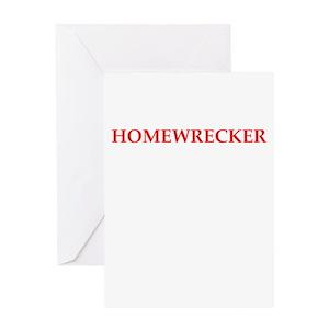 Homewrecker Card Greeting Cards