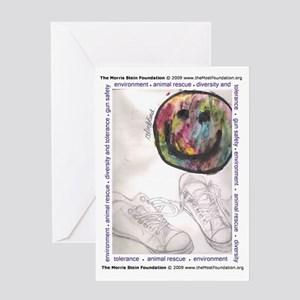 Colorblind by Hunter Greeting Card