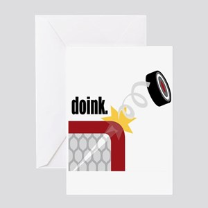 Doink Greeting Card