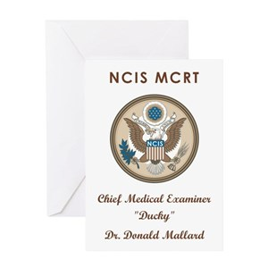 DR  DONALD MALLARD Greeting Card