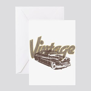 Vintage Car Greeting Cards