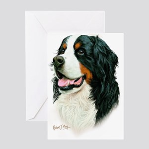 Bernese Greeting Card