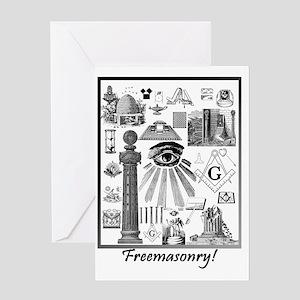 Prince Hall Masonic Greeting Cards - CafePress