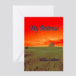 My Antonia Greeting Card