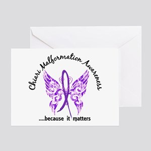Chiari Butterfly 6.1 Greeting Card