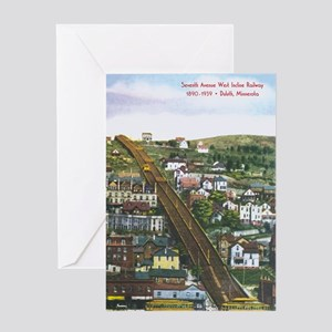 Incline_PrintFramed Greeting Card