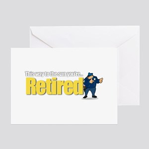 'Retirement Highway 3 :-)' Greeting Card