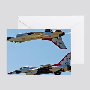 (15) Thunderbirds 5 and 6 Tail to Ta Greeting Card