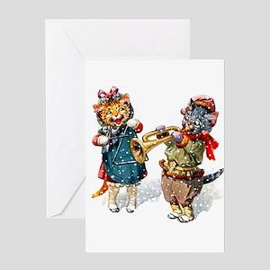 Trumpet Birthday Greeting Cards - CafePress