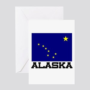 Alaska Flag Greeting Card