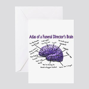 Funeral Director Mortician Greeting Card