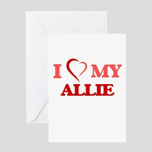 I love my Allie Greeting Cards