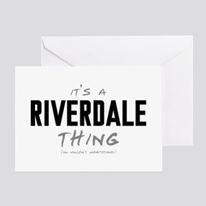 It's a Riverdale Thing Greeting Card