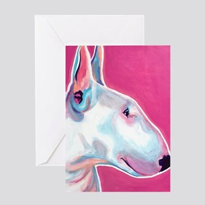 Bull Terrier #1 Greeting Card