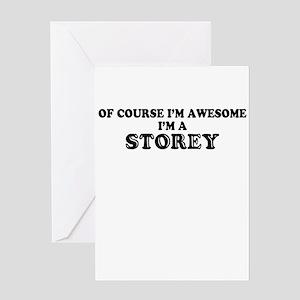 Storey Greeting Cards - CafePress