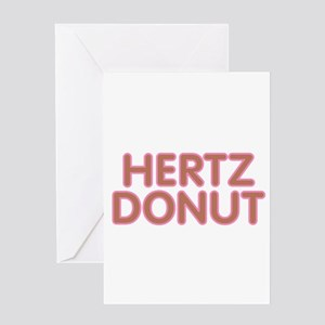Hertz Donut Greeting Cards