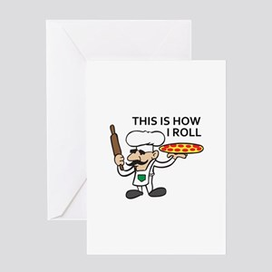 HOW I ROLL Greeting Cards