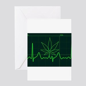 Canna Heartbeat Greeting Cards