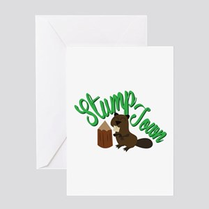 Stump Town Greeting Cards