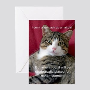 Cat Meme Greeting Cards