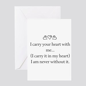 Friends In Your Heart Quote Saying Love Friendship Greeting Cards