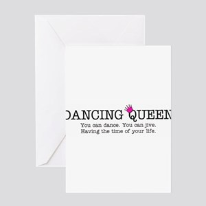 Dancing Queen Greeting Cards