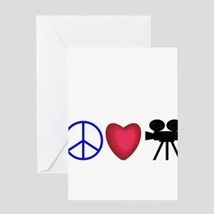 Movie Lover Greeting Card