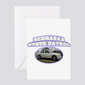 Nebraska State Patrol Greeting Card