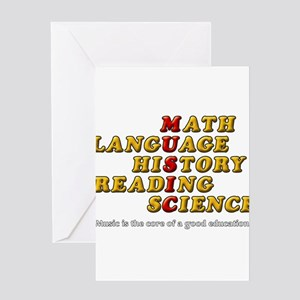 Music Education Greeting Cards