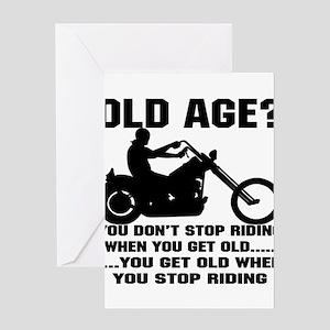 51d70afc8 Motorcycle Harley Davidson Greeting Cards - CafePress