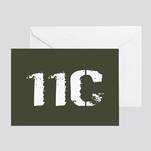 U.S. Army: 11C Mortarman (Military G Greeting Card