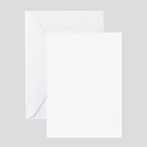 USN with Flag and Anchor Greeting Cards