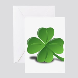 Shamrock Greeting Cards